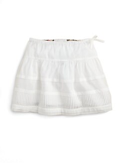 Burberry - Little Girl's Pintuck Skirt