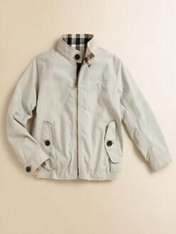 Burberry - Boy's Reversible Windbreaker Jacket