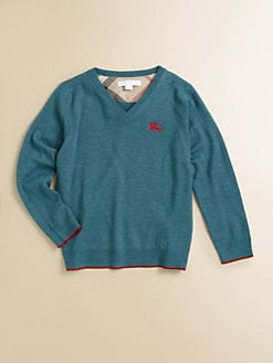 Burberry - Little Boy's Merino Wool Sweater