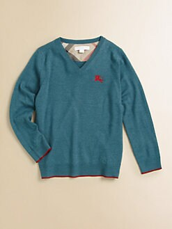 Burberry - Boy's Merino Wool Sweater