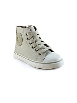 Burberry - Toddler's & Little Boy's Canvas High-Top Sneakers