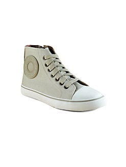 Burberry - Boy's Canvas High-Top Sneakers