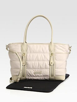 Burberry - Quilted Baby Bag