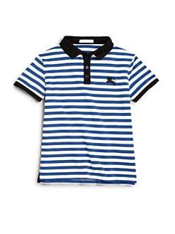 Burberry - Little Boy's Mini Retford Striped Polo Shirt