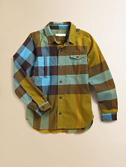 Burberry - Toddler's & Little Boy's Check Shirt