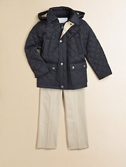 Burberry - Toddler's & Little Boy's Hooded Quilted Jacket
