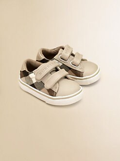 Burberry - Infant's Pete Check Sneakers