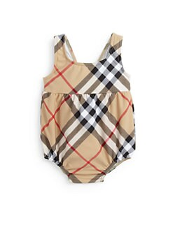 Burberry - Infant's Suzanna Check One-Piece Swimsuit