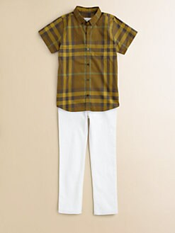 Burberry - Boy's Check Shirt