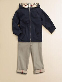 Burberry - Toddler Boy's Reversible Hooded Jacket