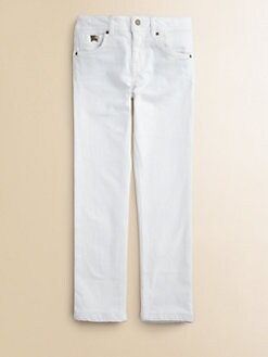 Burberry - Girl's Slim-Fitting Jeans