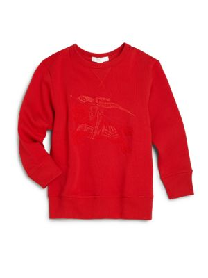 Boy's Equestrian Knight Detail Sweatshirt