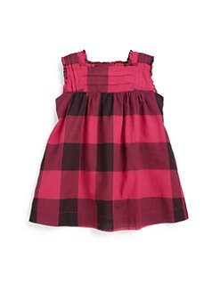 Burberry - Infant's Sleeveless Check Dress