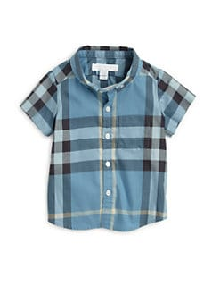 Burberry - Toddler Boy's Check Shirt