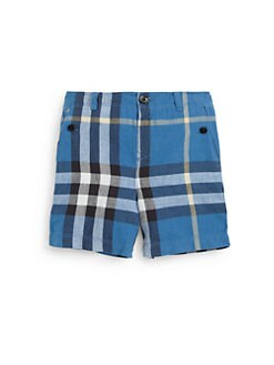 Burberry - Infant's Check Shorts