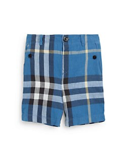 Burberry - Toddler Boy's Check Shorts