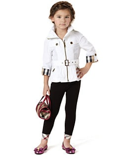 Burberry - Little Girl's Nylon Trenchcoat