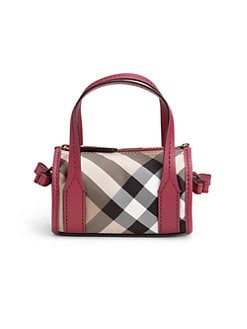 Burberry - Girl's Check Handbag