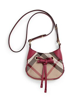 Burberry - Girl's Ruby Check Crossbody