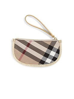 Burberry - Girl's Exploded Check Wristlet
