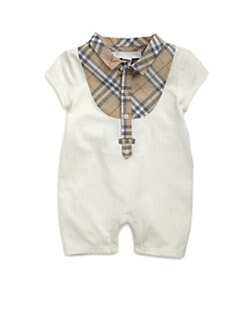 Burberry - Infant's Check Shortall