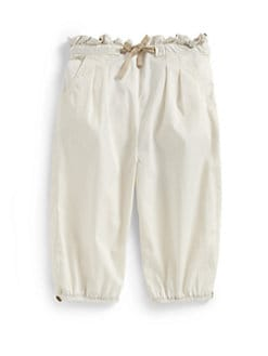 Burberry - Toddler Girl's Cotton Pants