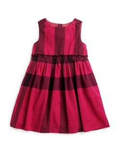 Burberry - Little Girl's Check Voile Dress