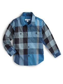 Burberry - Little Boy's Check Shirt