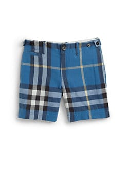 Burberry - Little Boy's Check Shorts
