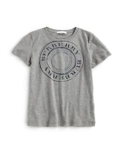 Burberry - Little Boy's Logo Tee
