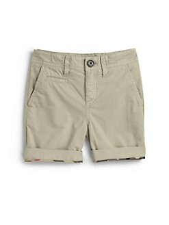 Burberry - Little Boy's Khaki Shorts