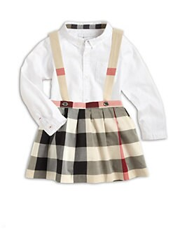 Burberry - Infant's Check Jumper