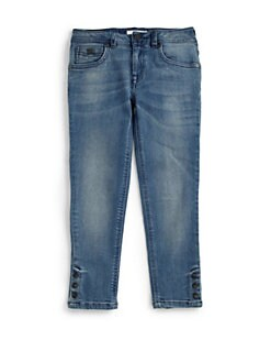 Burberry - Little Girl's Snap Jeans