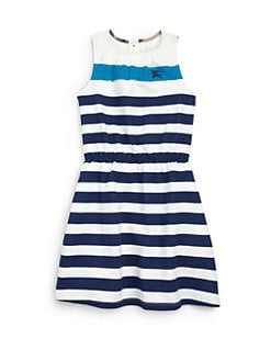 Burberry - Girl's Striped Dress