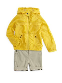 Burberry - Little Boy's Packable Nylon Jacket