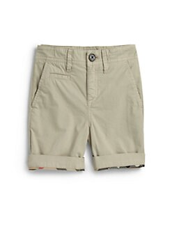 Burberry - Boy's Khaki Shorts