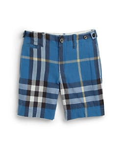 Burberry - Boy's Check Shorts
