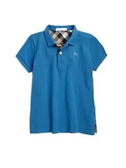 Burberry - Boy's Pique Polo Shirt