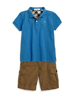 Burberry - Boy's Piqé Polo Shirt