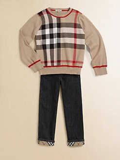 Burberry - Toddler's & Little Boy's Check Pullover