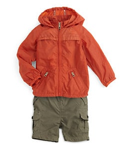 Burberry - Toddler Boy's Packable Nylon Jacket