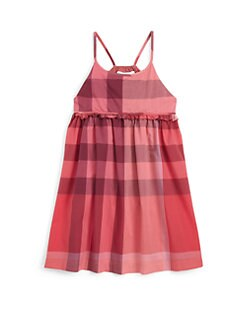 Burberry - Little Girl's Voile Check Dress