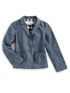 Burberry - Little Girl's Chambray Blazer