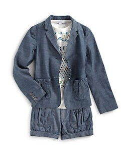 Burberry - Girl's Chambray Blazer