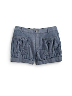 Burberry - Little Girl's Chambray Shorts