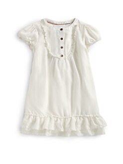 Burberry - Little Girl's Washed Silk Dress