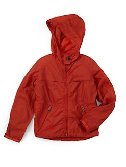 Burberry - Little Boy's Hooded Nylon Jacket