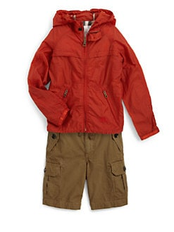 Burberry - Boy's Hooded Nylon Jacket
