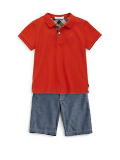 Burberry - Little Boy's Polo Shirt