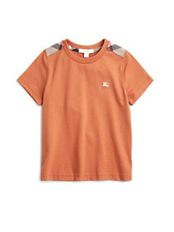 Burberry - Little Boy's Shoulder Patch Tee